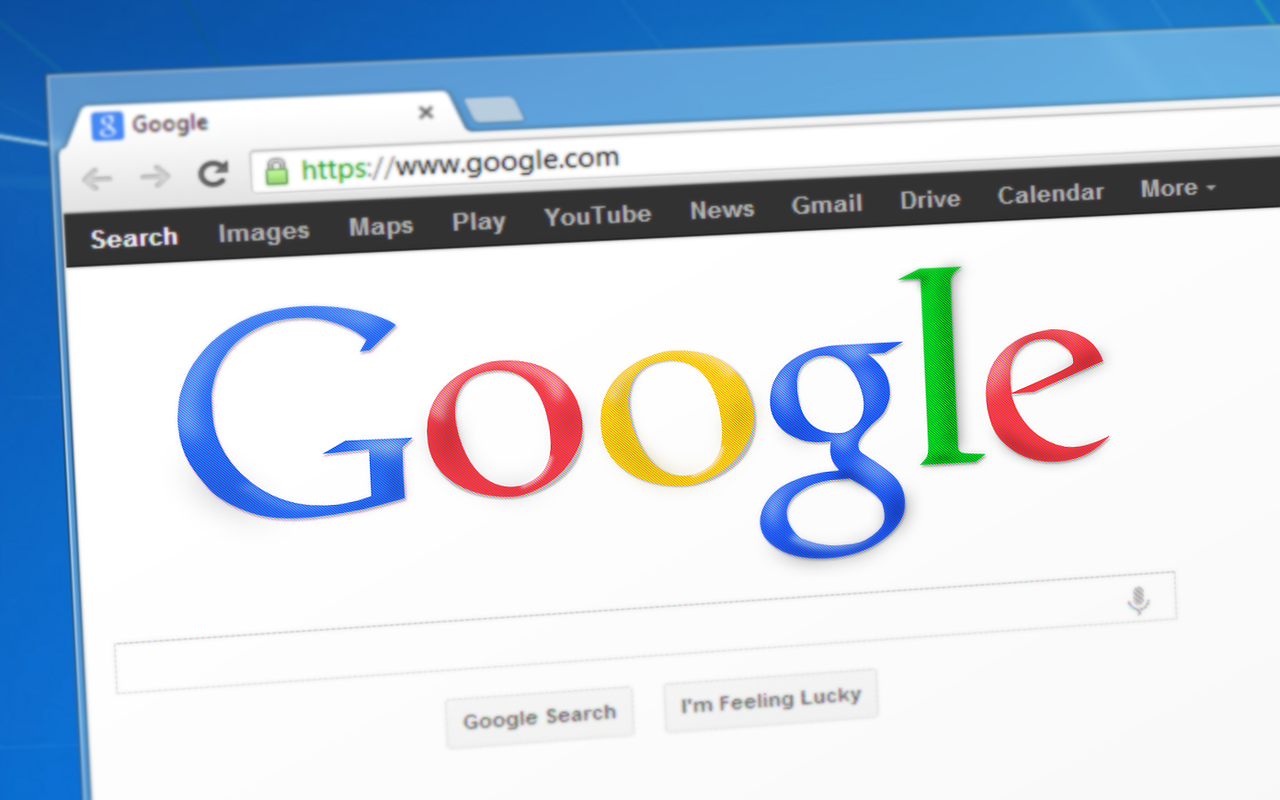 Google logo (Image by Simon Steinberger from Pixabay)