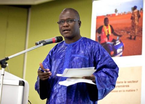 Ali Idrissa fra Publish What You Pay Nigeria er en av deltagerne som er bekreftet til debatten i dag. Foto: Eliane Baumgartner, SWISSAID