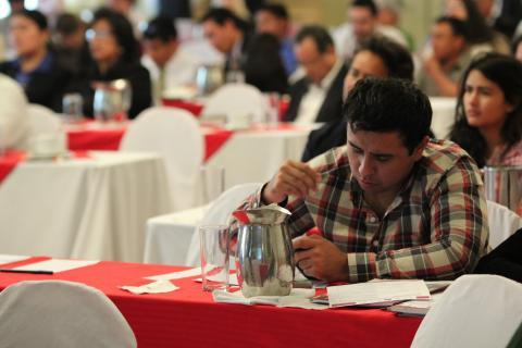Eden García kommer til å bruke sin stemmeplikt under valget i Bolivia på søndag. Foto: Christine Amdam