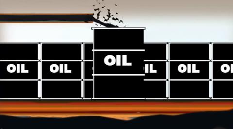 Gjennom denne filmen ønsker Global Righst Alert Uganda å vise hvilke problemstillinger Uganda har stått overfor etter at de begynte å utvinne olje. Foto: Skjermdump/YouTube