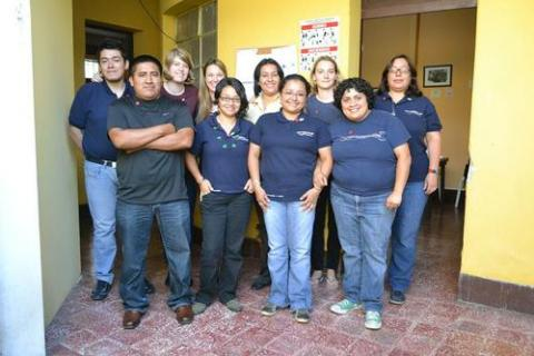 JURK visiting the organization Transformando El Mundo in Guatemala.