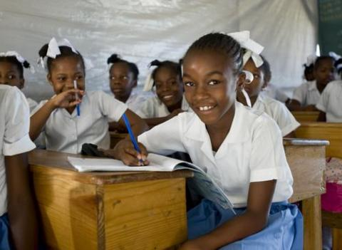 Education is a priority for Save the Children's international work.