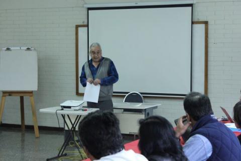 Sergio Duarte leder Cordaid-nettverket. Foto: Christine Amdam