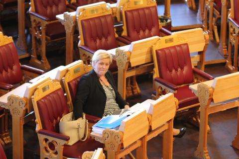 Finansminister Siv Jensen påstår at vi allerede har nok tiltak mot skatteunndragelse, det stemmer ikke, skriver Mona Thowsen i en kronikk i Klassekampen. Foto: Christine Amdam