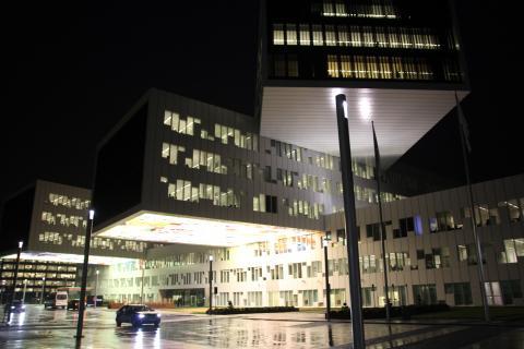 Statoil sitt hovedkontor på Fornebu i Oslo. Foto: Eline Helledal