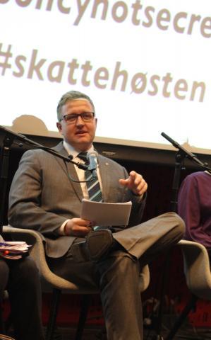 Truls Wickholm (Ap) har sendt inn interpellasjon til finansminister Siv Jensen (Frp). Foto: Eline Helledal