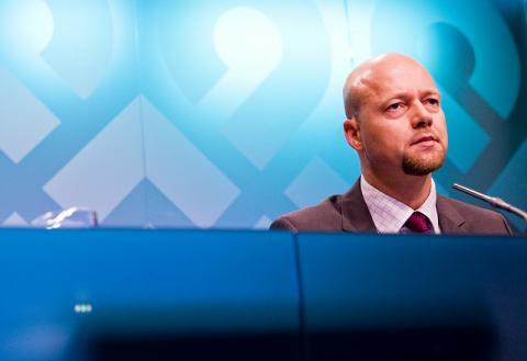Yngve Slyngstad er leder for Oljefondet. Foto: Norges Bank.