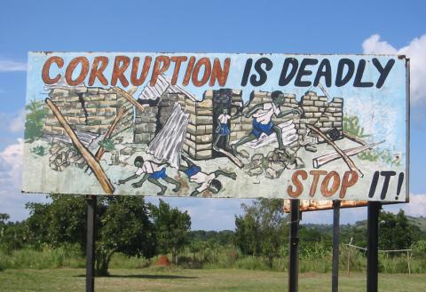 PWYP Norge synes det er gledelig at ISFiT setter fokus på korrupsjon. Foto: futureatlas.com/flickr.com